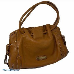 Cole Haan Genuine Leather Boho Style Handbag